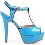 VERA BLUM Lakované sandále (37)