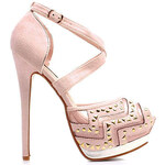 SERGIO TODZI Neobyčejné sandálky na podpatku (41)