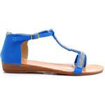 Just Women Jemné sandálky zdobené krystalky (37)