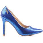Vices Modré lodičky na jehlovém podpatku (40)