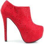BELLE WOMEN Luxusní boty s křišťálky (39)