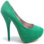 TRUFFLE Dámské zelené lodičky (37)