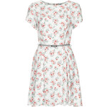 Topshop **Woven Skater Dress by Love