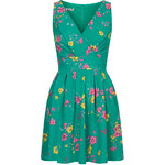 Topshop **Printed Cross Bust Dress by Wal G