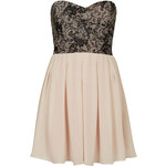 Topshop **Elida Lace Bandeau Dress by TFNC