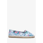 Tally Weijl Tropical Floral Print Espadrille Shoes