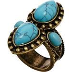 ASOS Festival Stone Ring - Blue