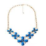 ZOVI Náhrdelník Flower Blooms modrý Z032