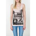 "Tally Weijl Pink ""Hollywood"" Print Vest"