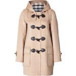 Burberry Brit Wool Minstead Duffle Coat in Camel