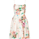 Topshop **Bralet Cup Printed Scuba Dress by Oh My Love