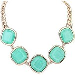 LightInTheBox Women's Europe And The United States Ruili Delicate Gems Geometric Necklace
