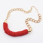 LightInTheBox Women's European and American fashion multiScreen Colorbeads necklace