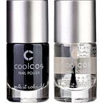 Stylepit Lak na nehty CoolCos, 2 v balemí: barva + vrchní nátěr