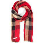 Burberry Shoes & Accessories Linen Check Scarf