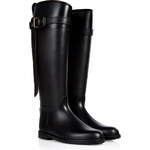 Burberry Shoes & Accessories Belted Equestrian Rain Boots