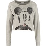 ONLY Sweatshirt light grey melange
