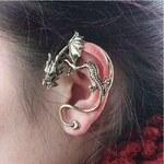 ZOYO Náušnice na celé ucho - drak