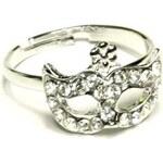 ZOYO Prsten maska - stříbrný