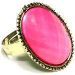 ZOYO Prsten oválný - růžový