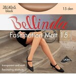 Bellinda Klasické punčochy Fascination Matt 15 den černá - M