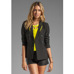 Funktional Reflection Cut Out Blazer in Black