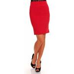 Queen O.F. Elegantní dámská sukně hs-su04re dle obrázku - 38(M)