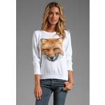 Wildfox Couture Fox in White