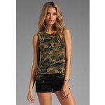 Lovers + Friends for REVOLVE Jamie Muscle Tank in Green