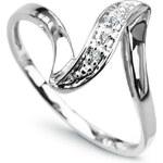 Diamantový prsten H I1 Au585 Pliez