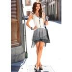 Laura Scott Šaty se šifonovou volánovou sukní Laura Scott