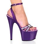 Adore-738 obuv na vysokém podpatku a platformě Pleaser 35 (US 5)