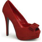 Pin Up Couture Bella-10 dámské lodičky Pleaser 35 (US 5)