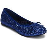 Star 16G modré balerínky Pleaser 35 (US 5)