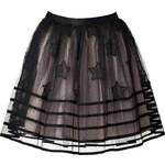 RED Valentino Organza Stars Skirt