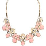 LightInTheBox Pretty Flower Design Alloy with Resin Necklace(More Colors)