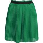 Zelená plisovaná sukně Lavand