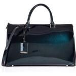 Jil Sander Iridescent Leather Large Jil Bag