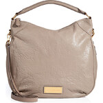 Marc by Marc Jacobs Leather Hobo in Warm Zinc