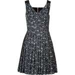 Marc by Marc Jacobs Cotton-Silk Printed Cas Dress