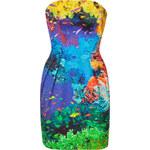Mary Katrantzou Coral Reef Strapless Puff Dress