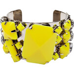 By Malene Birger Neon Yellow Quilcina Bangle