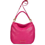 Marc by Marc Jacobs Fuchsia Leather Hobo Bag