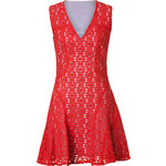 10 Crosby Derek Lam Lava Cut-Out Cotton Dress