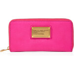 Marc by Marc Jacobs Vertical Zippy Leather Wallet in Pop Pink