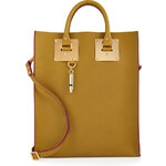 Sophie Hulme Leather Convertible Tote