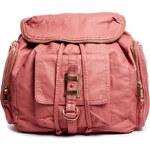 Rosa River Island – Pinkfarbener Rucksack mit Tasche