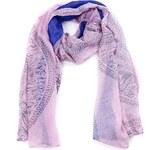 Intrigue Šátek s jemným vzorem rosa