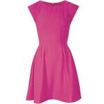 Topshop Crepe Seam Flippy Dress