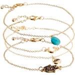 ASOS Fine Festival Bracelet Pack - Multi